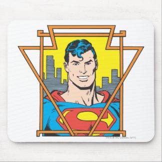 Superman Bust Mouse Mat