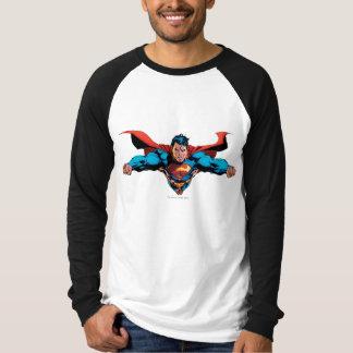 Superman cape flies T-Shirt