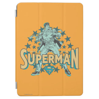 Superman changes with stars iPad air cover