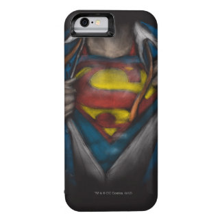 Superman   Chest Reveal Sketch Colorized