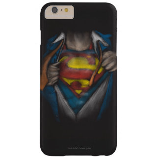 Superman | Chest Reveal Sketch Colorized Barely There iPhone 6 Plus Case