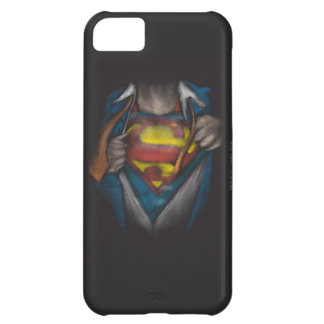 Superman | Chest Reveal Sketch Colorized iPhone 5C Case