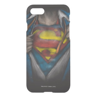 Superman | Chest Reveal Sketch Colorized iPhone 8/7 Case