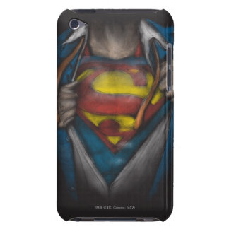 Superman | Chest Reveal Sketch Colorized iPod Touch Covers