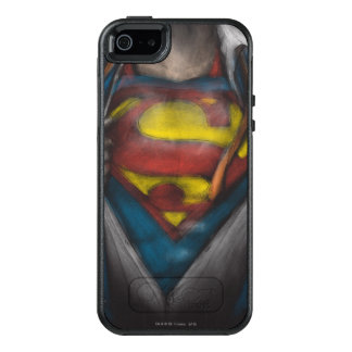 Superman | Chest Reveal Sketch Colorized OtterBox iPhone 5/5s/SE Case