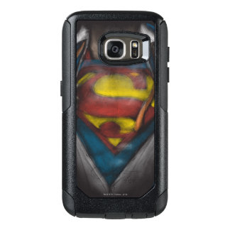 Superman | Chest Reveal Sketch Colorized OtterBox Samsung Galaxy S7 Case
