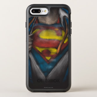 Superman | Chest Reveal Sketch Colorized OtterBox Symmetry iPhone 8 Plus/7 Plus Case