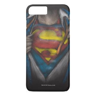 Superman Chest Sketch 2 2 iPhone 7 Plus Case