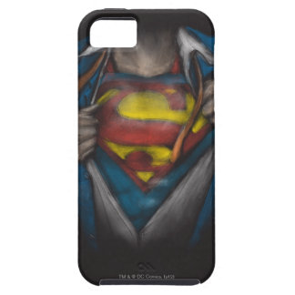 Superman Chest Sketch 2 iPhone 5 Case
