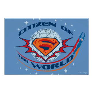 Superman Citizen of the World Poster