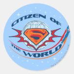 Superman Citizen of the World Sticker