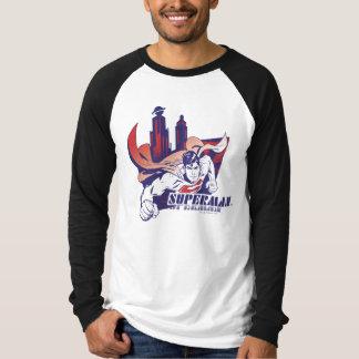 Superman City and Name T-Shirt