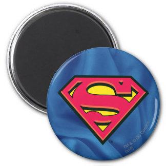 Superman Classic Logo 6 Cm Round Magnet