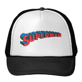 Superman Classic Logo Mesh Hat