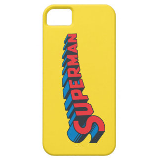 Superman   Classic Logo iPhone 5 Case