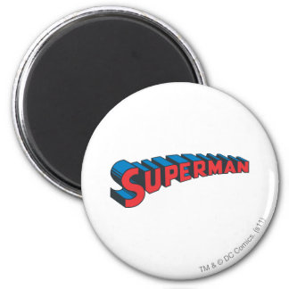 Superman | Classic Logo Magnet