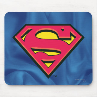 Superman Classic Logo Mouse Pad