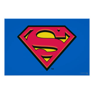 Superman Classic Logo Poster