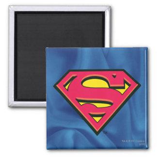 Superman Classic Logo Square Magnet