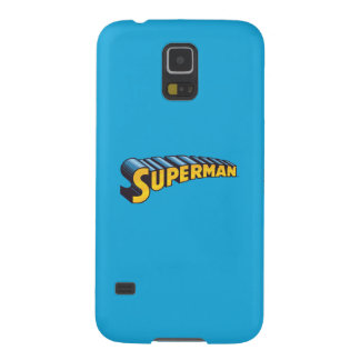Superman | Classic Name Logo Galaxy S5 Cases