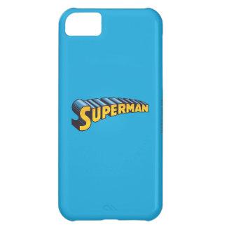 Superman | Classic Name Logo iPhone 5C Case