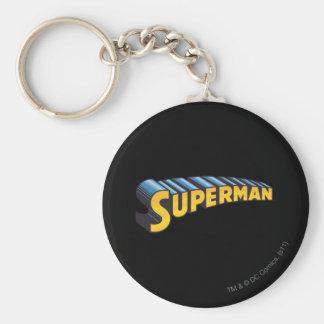 Superman | Classic Name Logo Key Ring