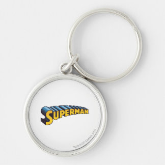 Superman | Classic Name Logo Key Ring