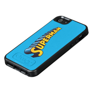 Superman | Classic Name Logo OtterBox iPhone 5/5s/SE Case