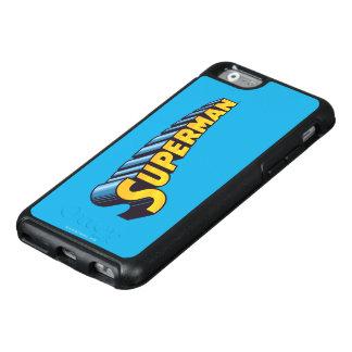 Superman | Classic Name Logo OtterBox iPhone 6/6s Case