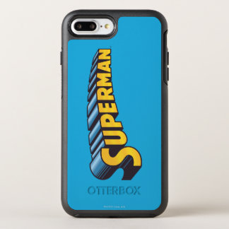 Superman | Classic Name Logo OtterBox Symmetry iPhone 7 Plus Case