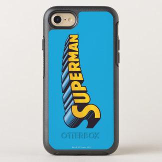 Superman | Classic Name Logo OtterBox Symmetry iPhone 8/7 Case