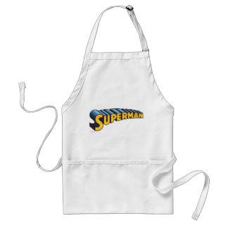 Superman | Classic Name Logo Standard Apron