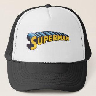 Superman | Classic Name Logo Trucker Hat