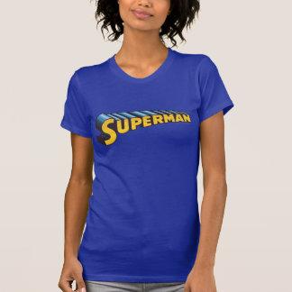 Superman   Classic Name Logo Tshirts