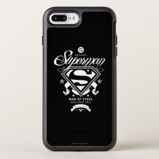 Superman Coat of Arms OtterBox Symmetry iPhone 8 Plus/7 Plus Case