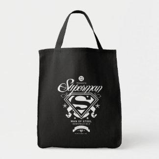 Superman Coat of Arms Tote Bag