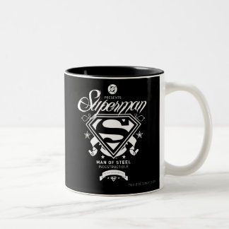 Superman Coat of Arms Two-Tone Coffee Mug