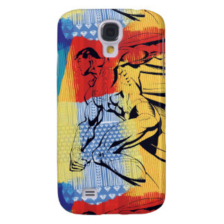 Superman Colorful Galaxy S4 Case
