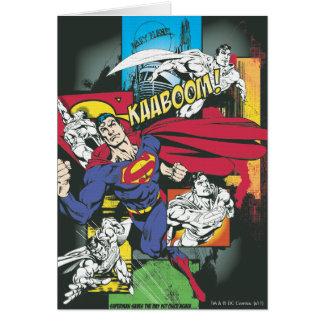 Superman Comic Black Cards