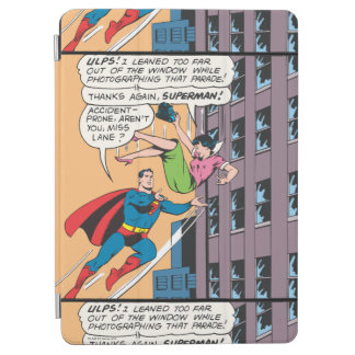 Superman Comic Panel - Accident-Prone Lois iPad Air Cover