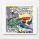 Superman Comic Panel - Lois An Instant Later Mousemat