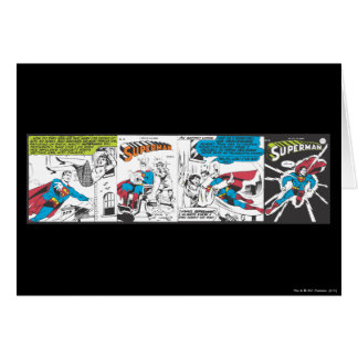 Superman Comic Panels 2 Card