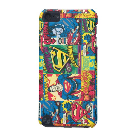 Superman Comic Panels iPod Touch (5th Generation) Covers