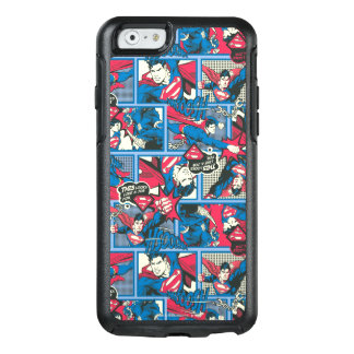 Superman Comic Pattern OtterBox iPhone 6/6s Case
