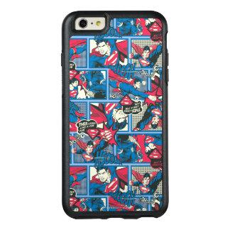 Superman Comic Pattern OtterBox iPhone 6/6s Plus Case