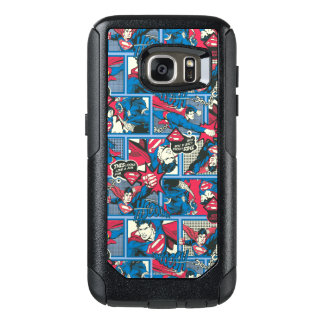 Superman Comic Pattern OtterBox Samsung Galaxy S7 Case