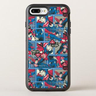 Superman Comic Pattern OtterBox Symmetry iPhone 7 Plus Case
