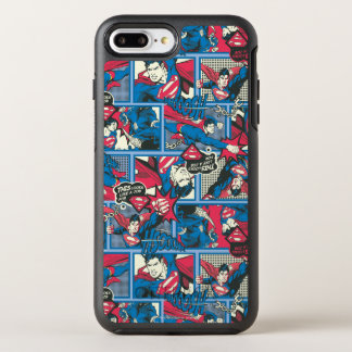 Superman Comic Pattern OtterBox Symmetry iPhone 8 Plus/7 Plus Case