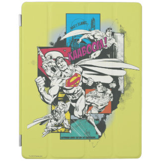 Superman Comic Yellow iPad Cover