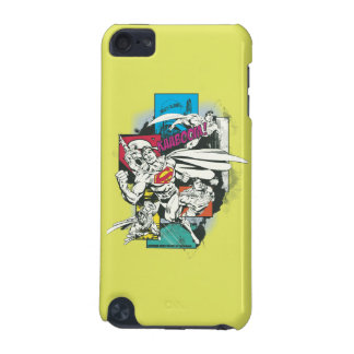 Superman Comic Yellow iPod Touch (5th Generation) Cover